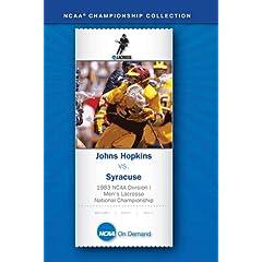 1983 NCAA(R) Division I Men's Lacrosse National Championship