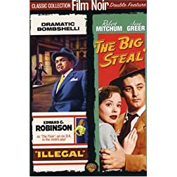 Illegal / The Big Steal (Film Noir Double Feature)
