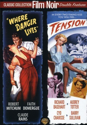 Where Danger Lives / Tension (Film Noir Double Feature)