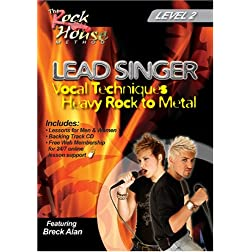 The Rock House Method: Lead Singer, Heavy Rock to Metal: Level 2