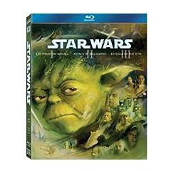 Star Wars: The Prequel Trilogy (Episodes I - III) [Blu-ray]