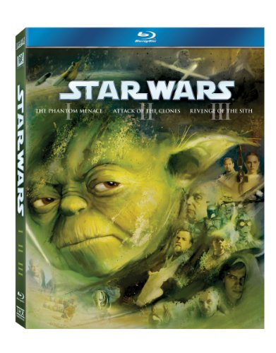 Star Wars: The Prequel Trilogy (Episodes I - III) [Blu-ray]