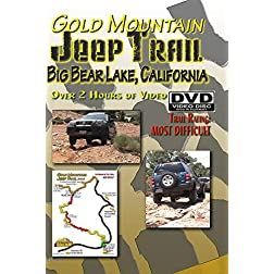 Gold Mountain Jeep Trail DVD