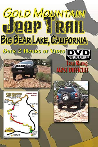 Gold Mountain Jeep Trail DVD