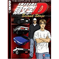 Initial D: Second Stage - The Complete Second Season