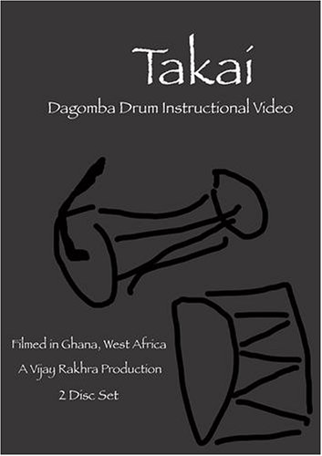 Takai: West African Drum Instructional Video (2 DVD disc set)