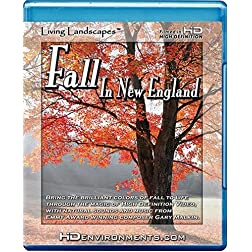 Living Landscapes HD Fall in New England [Blu-ray]