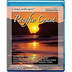 Living Landscapes HD Pacific Coast [Blu-ray]