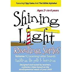 Shining Light Reading Series: Volume 1/Learning Letter Sounds