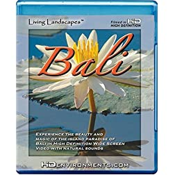 Living Landscapes HD Bali [Blu-ray]