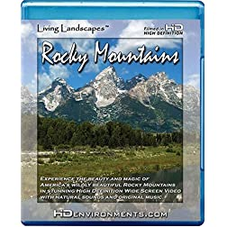 Living Landscapes HD Rocky Mountains [Blu-ray]