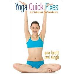 Yoga Quick Fixes - Ana Brett & Ravi Singh