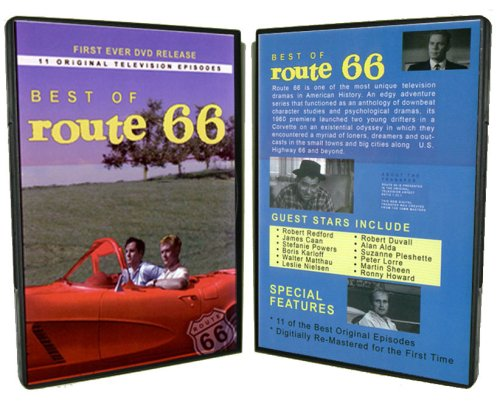 Best of Route 66 - Eleven Original TV Series episodes