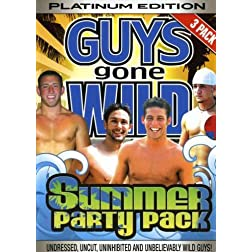 Guys Gone Wild: Platinum Edition 3 Pack - Summer Party Pack