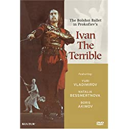 Prokofiev - Ivan the Terrible, The Classic Motion Picture with The Bolshoi Ballet / Natalia Bessmertnova, Yuri Grigorovich