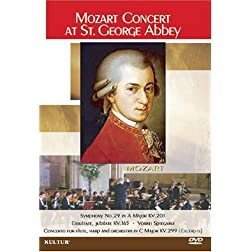 Mozart Concert at St George Abbey / Normandy Orchestral Ensemble, Philippe de Petris, Anne-Laurence Savin, Elisabeth Vidal