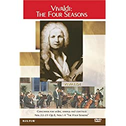 Vivaldi - The Four Seasons / Versailles Soloists, Bernard le Monnier