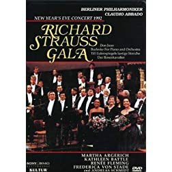 New Year's Eve Concert 1992 - Richard Strauss Gala / Claudio Abbado, Berlin Philharmonic, Kathleen Battle, Frederica von Stade, Renee Fleming