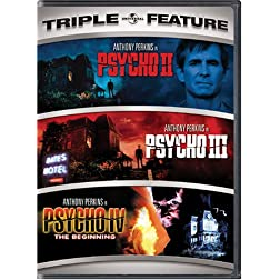 Psycho II / Psycho III / Psycho IV - The Beginning (Triple Feature)