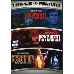 Psycho II / Psycho III / Psycho IV - The Beginning (Triple Feature)