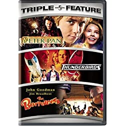 Peter Pan / Thunderbirds / The Borrowers (Triple Feature)