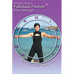 Fabulous Forever Easy Strength Beginners Body Sculpting Exercise DVD with Light Weights for Over 50 Baby Boomer Women
