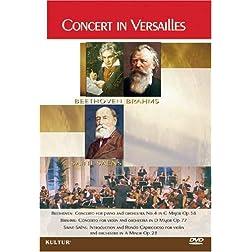 Beethoven/Brahms/Saint-Sa�ns - Concert In Versailles / French Symphonic Orchestra, Sun Sic Yang, Kun Woo Paik