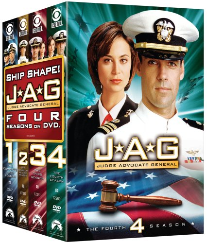 JAG (Judge Advocate General) - The Complete Seasons 1-4