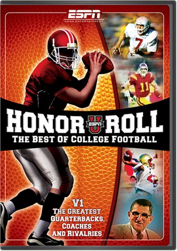 ESPN: ESPNU Honor Roll - The Best of College Football, Vol. 1