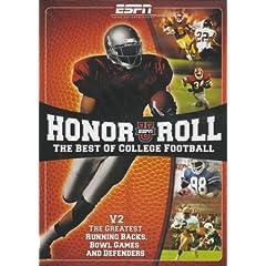 ESPN: ESPNU Honor Roll - The Best of College Football, Vol. 2