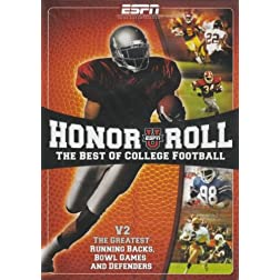 ESPN: ESPNU Honor Roll - The Best of College Football, Vol. 2