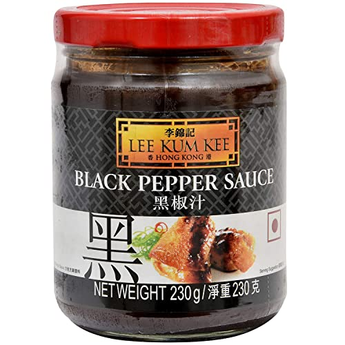 Lee Kum Kee Black Pepper Sauce, 15.5-Ounce Jars (Pack of 4)