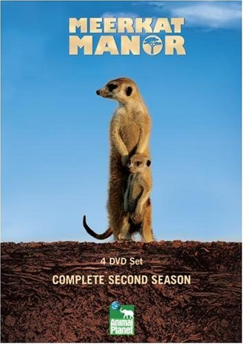 Meerkat Manor The Complete 2nd Season (4 DVD set)
