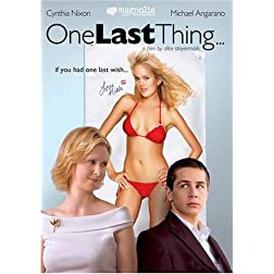 One Last Thing... (2 DVD set - WMVHD)