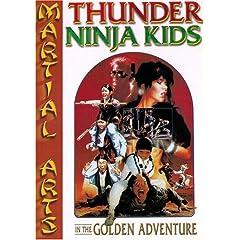 Thunder Ninja Kids :  In The Golden Adventures