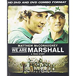 We Are Marshall (Combo HD DVD and Standard DVD) [HD DVD]