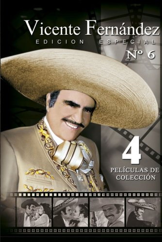 Vicente Fernandez Edition Special 4 Pack, Vol.6