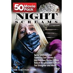 Night Screams 50 Movie Pack