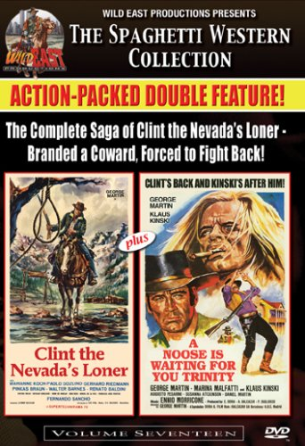 Clint the Nevada's Loner / A Noose is Waiting for You Trinity (Spaghetti Western Collection Vol. 17)