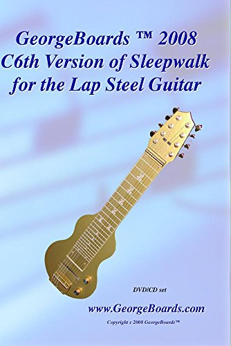 Lap Steel Guitar Instructional DVD GeorgeBoards Sleepwalk (NTSC)