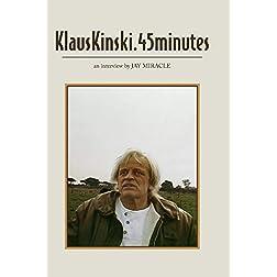 KlausKinski.45Minutes