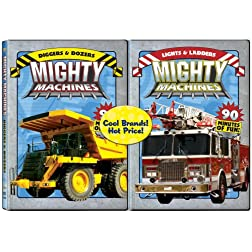 Mighty Machines 2 pack: Diggers & Dozers/Lights & Ladders