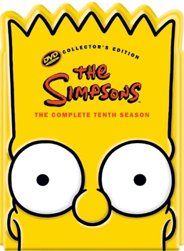 The Simpsons - The Complete Tenth Season (Collectible Bart Head Pack)