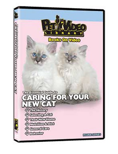 CARING FOR YOUR CAT DVD! From Kitten to Adult