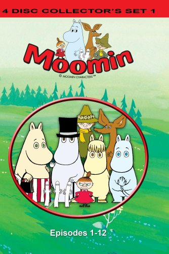 Moomin 4 Disc Collector's Set