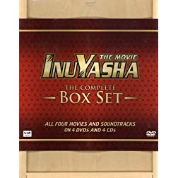 Inuyasha Complete Delux Movies Box Set (Limited Edition)