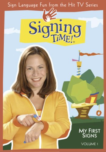 Signing Time! Volume 1: My First Signs DVD (Two Little Hands Productions)