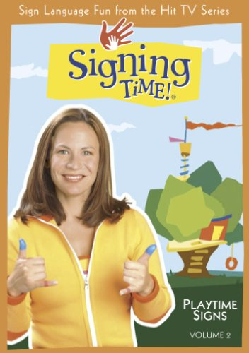 Signing Time! Volume 2: Playtime Signs DVD - Revised Edition (Two Little Hands Productions)