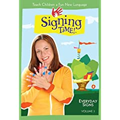 Signing Time! Volume 3: Everyday Signs DVD - Revised Edition (Two Little Hands Productions)