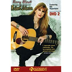 Rory Block Teaches the Guitar of Robert Johnson- DVD#2
